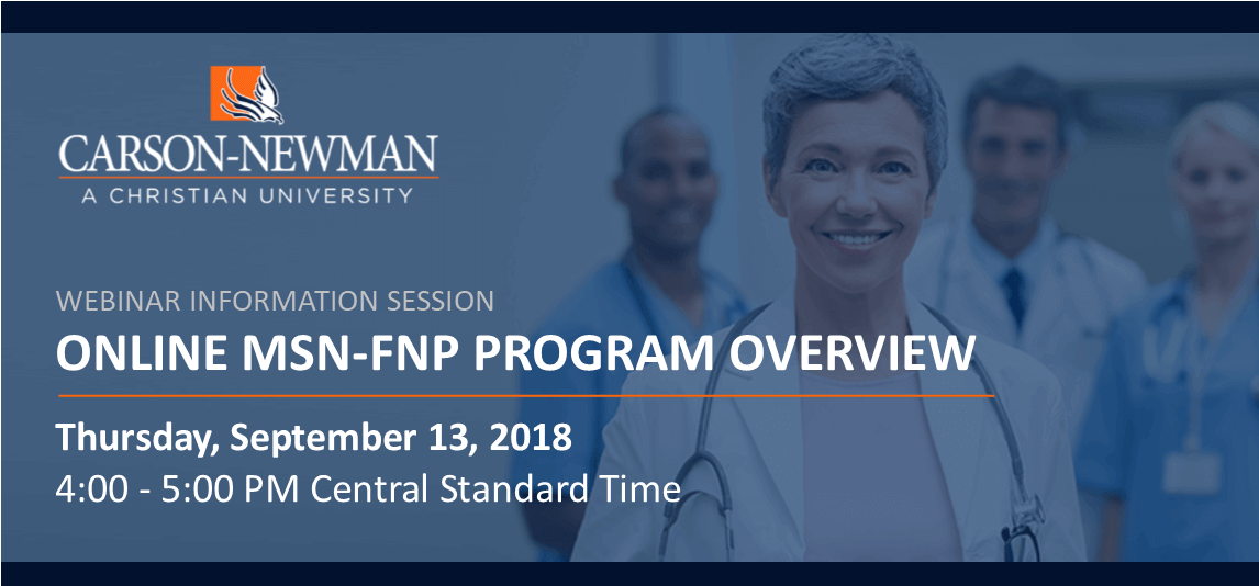 Carson-Newman University Online MSN-FNP Program Overview