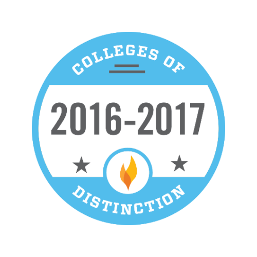 Yearly Badge for College of Distinction