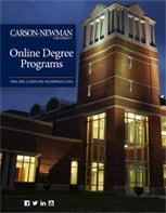 Carson-Newman University Online Program Guide Book