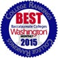 Best Online College Rankings Badge