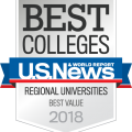 2018 Best Value Regional University - Carson-Newman