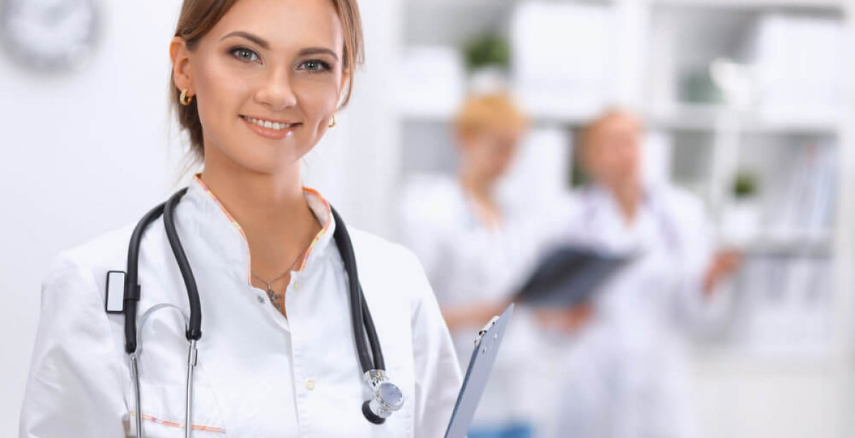 Family nurse practitioner practicing primary care