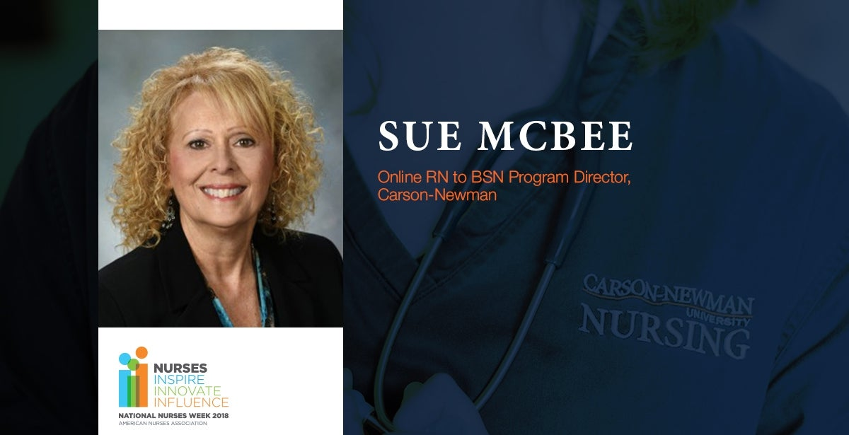 Nurse Week: Interview with Carson-Newman Online RN to BSN Program Director, Sue McBee Blog Header